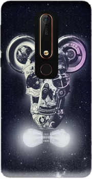 Skull Mickey Mechanics in space Case for Nokia 6.1
