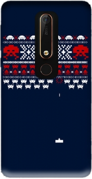 Space Invaders Case for Nokia 6.1