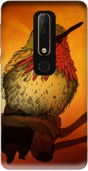 Sunset Bird Case for Nokia 6.1