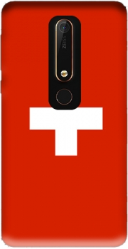 Switzerland Flag Case for Nokia 6.1