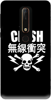 the clash punk asiatique Nokia 6.1 Case