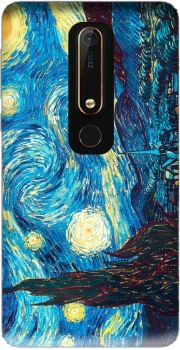 The Starry Night Case for Nokia 6.1