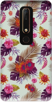 Tropical Floral passion Case for Nokia 6.1