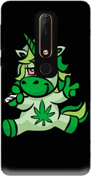 Unicorn weed Nokia 6.1 Case