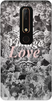 Vintage love in black and white Case for Nokia 6.1