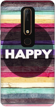 Be Happy Case for Nokia 6.1