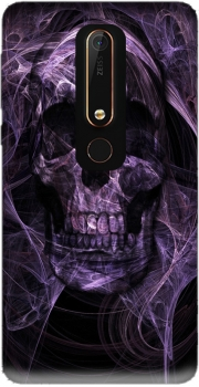 Violet Skull Case for Nokia 6.1