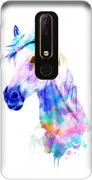Watercolor Horse Nokia 6.1 Case