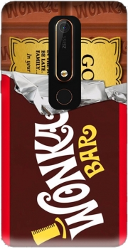 Willy Wonka Chocolate BAR Case for Nokia 6.1