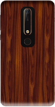 Wood Case for Nokia 6.1