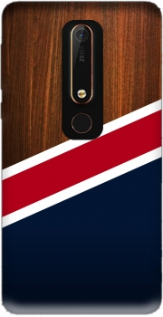 Wooden New England Case for Nokia 6.1