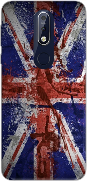 Silicone Nokia 7.1 with pictures flag
