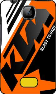 KTM Racing Orange And Black Case for Nokia Asha 501