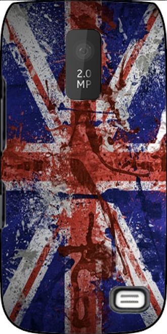 Case Nokia Asha 309 with pictures flag