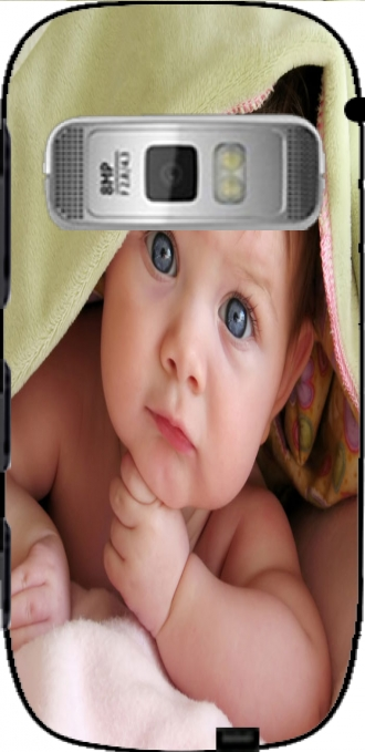 Case Nokia C7 with pictures baby