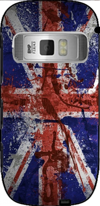 Case Nokia C7 with pictures flag