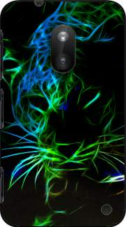 Abstract neon Leopard Case for Nokia Lumia 620