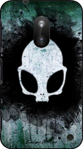 Case Skull alien for Nokia Lumia 620