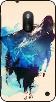Alone as a wolf Case for Nokia Lumia 620