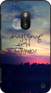 Anything could happen Case for Nokia Lumia 620