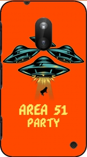 Area 51 Alien Party Nokia Lumia 620 Case