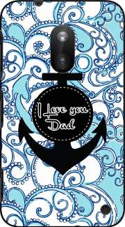 Blue Water - I love you Dad Case for Nokia Lumia 620