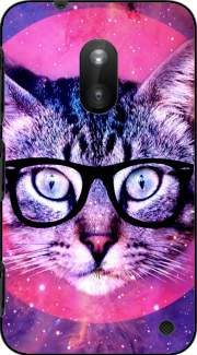 Cat Hipster Case for Nokia Lumia 620
