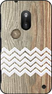 Chevron on wood Case for Nokia Lumia 620