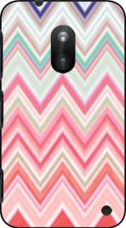 colorful chevron in pink Case for Nokia Lumia 620