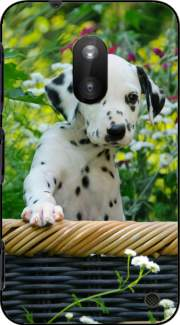 Cute Dalmatian puppy in a basket  Case for Nokia Lumia 620