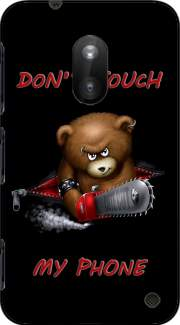 Don't touch my phone Case for Nokia Lumia 620
