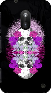 Flowers Skull Case for Nokia Lumia 620