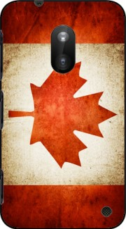 Canadian Flag Vintage Case for Nokia Lumia 620