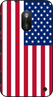 Flag United States Case for Nokia Lumia 620
