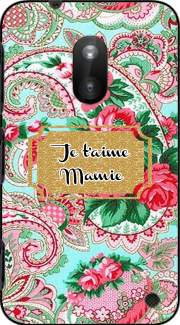 Floral Old Tissue - Je t'aime Mamie Case for Nokia Lumia 620