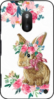 Flower Friends bunny Lace Nokia Lumia 620 Case