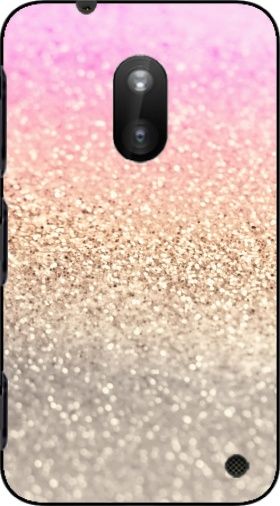Case Gatsby Glitter Pink for Nokia Lumia 620
