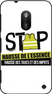 Gilet Jaune Stop aux taxes Case for Nokia Lumia 620