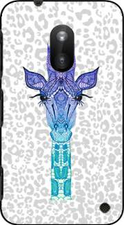 Giraffe Purple Case for Nokia Lumia 620
