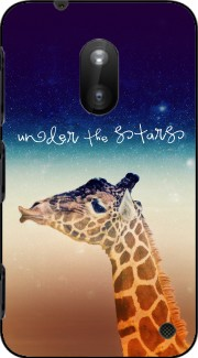 Giraffe Love - Right Case for Nokia Lumia 620