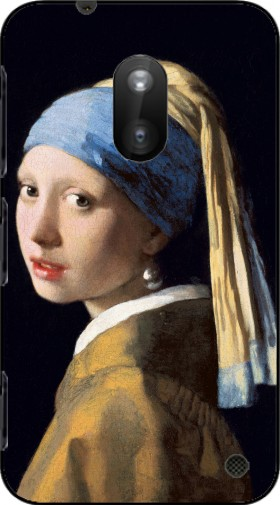 Case Girl with a Pearl Earring for Nokia Lumia 620