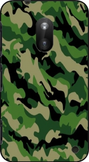 Green Military camouflage Case for Nokia Lumia 620