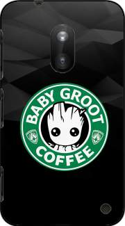 Groot Coffee Case for Nokia Lumia 620