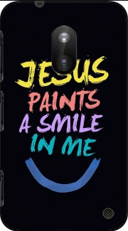 Jesus paints a smile in me Bible Case for Nokia Lumia 620