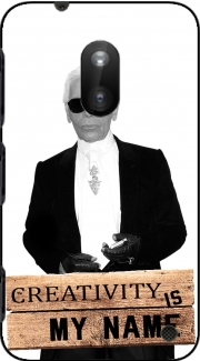 Karl Lagerfeld Creativity is my name Case for Nokia Lumia 620