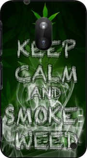 Keep Calm And Smoke Weed Case for Nokia Lumia 620