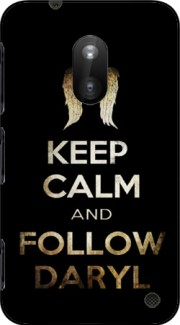 Keep Calm and Follow Daryl Case for Nokia Lumia 620