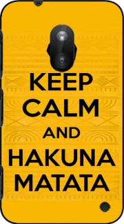 Keep Calm And Hakuna Matata Case for Nokia Lumia 620
