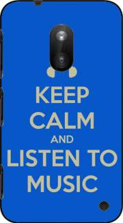 Keep Calm And Listen to Music Case for Nokia Lumia 620