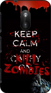 Keep Calm And Kill Zombies Case for Nokia Lumia 620